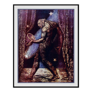 Ghost of a Flea by WIlliam Blake Poster