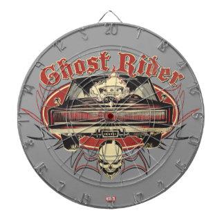 Ghost Rider Badge Dartboard