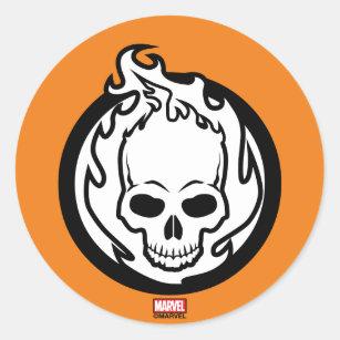 Ghost Icon Stickers Zazzle Nz