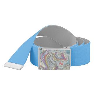 Ghost Tiger Custom Belt Blue-Gray