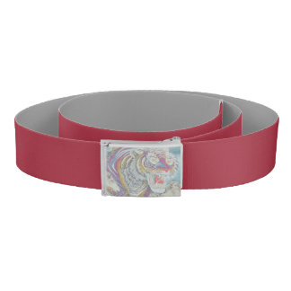 Ghost Tiger Custom Belt Red-Gray