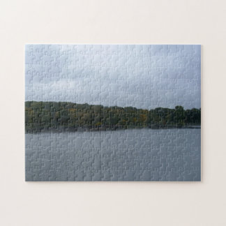 Ghostly Barges Jigsaw Puzzle