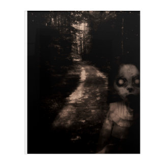 Ghostly Path Acrylic Print