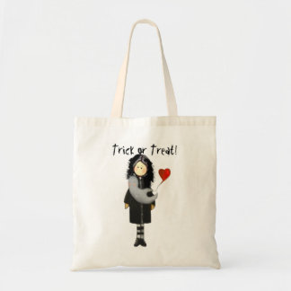 Ghostlys, Trick or Treat! Budget Tote Bag