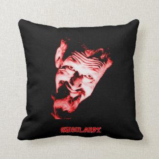 "Ghoulardi (Red) 16"" x 16"" Throw Pillow"