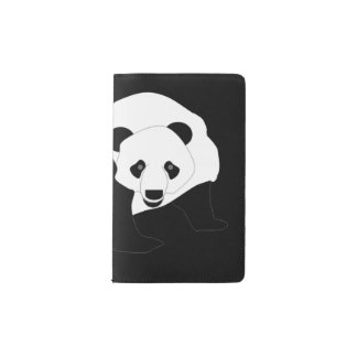 Giant Panda Pocket Moleskine Notebook