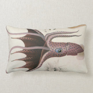 Giant Red Squid/Octopus Nautical Themes Pillow Throw Cushion