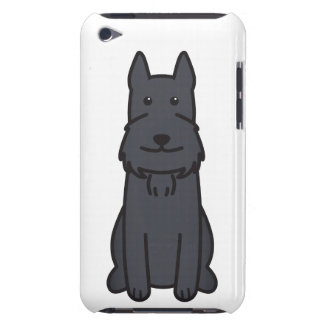 Giant Schnauzer Dog Cartoon iPod Touch Covers