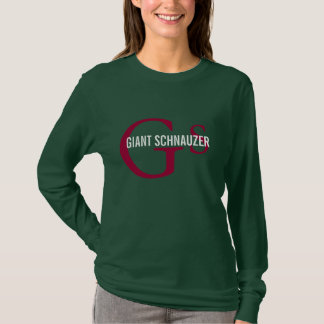 Giant Schnauzer Monogram T-Shirt