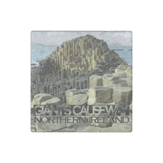 Giants Causeway Stone Magnet