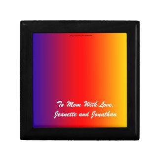 Gift Box, Jewelry Box, Mother's Day, Rainbow