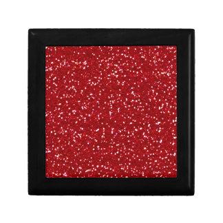 Gift Box - RED GLITTER VALENTINE'S