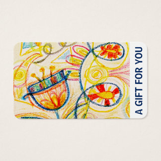 Gift Card, Gift Certificate, D5-052115 Business Card