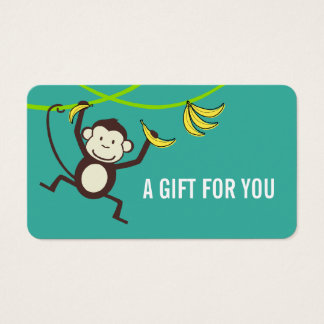 Gift Card, Gift Certificate, D6-052115 Business Card