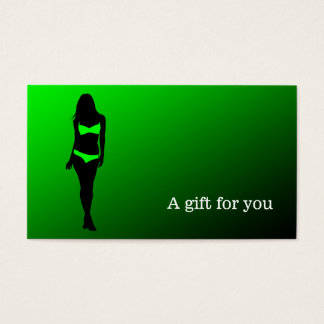 Gift certificate lingerie boutique