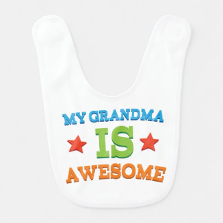 Gift From Grandma Baby Infant Bib