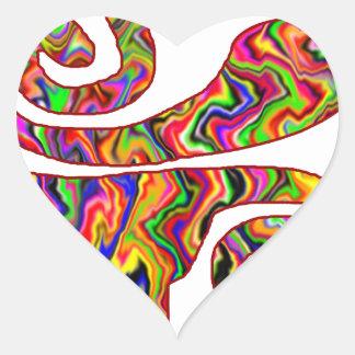 GIFT, LOVE, PEACE, GOODLUCK, WWW.DRCHOS.COM HEART STICKERS
