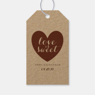 Gift Tag - Love is Sweet