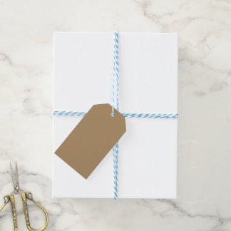 Gift Tags Gold-White