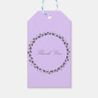 Gift Tags Lavendar Template