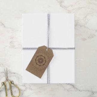 Gift tags with hand-drawn Mandala
