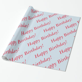 Gift Wrap - Happy Birthday Wrapping Paper
