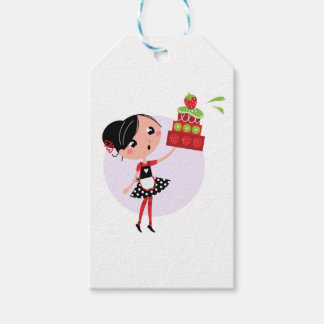Gift wrapping with Kitchen girl