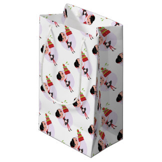 Gift wrapping with Kitchen girl Small Gift Bag