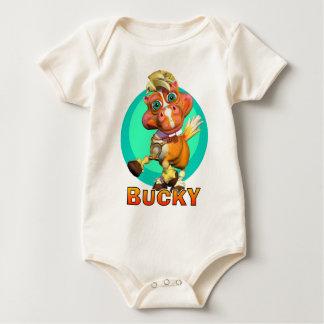 GiggleBellies Bucky the Horse Baby Bodysuit