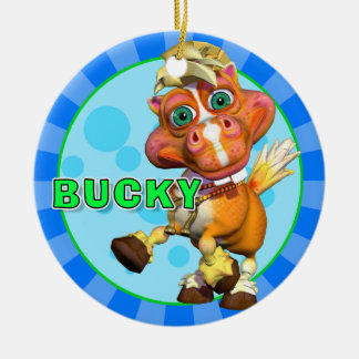 """GiggleBellies"" Bucky the Horse Ornament"