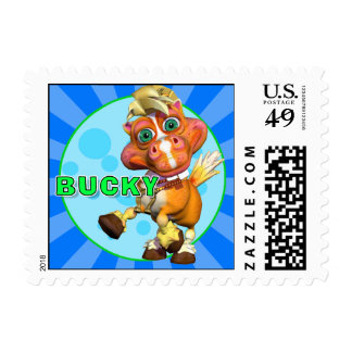 """""""GiggleBellies"""" Bucky the Horse Stamp"""