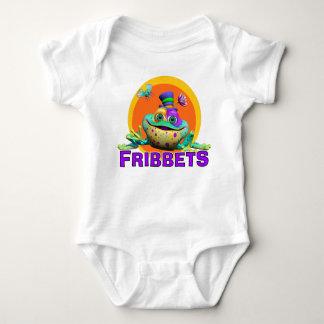 GiggleBellies Fribbets the Frog Baby Bodysuit