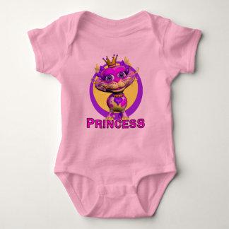 GiggleBellies Princess the Cat Baby Bodysuit