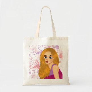 Ginger hair tote bag