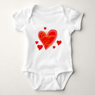 Ginger Love Baby Bodysuit