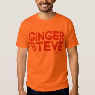 Ginger Steve T-Shirt [No logo on back]