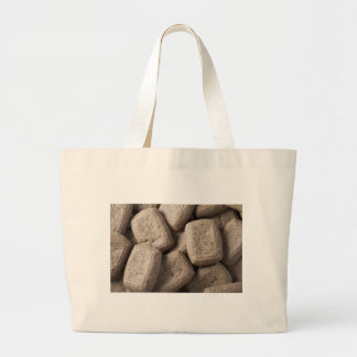 Gingerbread Cookies Large Tote Bag