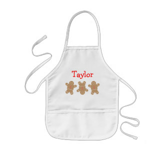 Gingerbread Man Personalised Apron