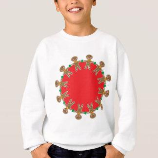 Gingerbread Man Wreath Sweatshirt