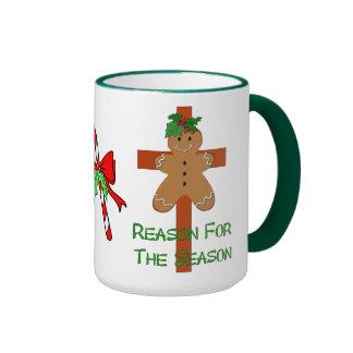 Gingerbread On A Cross Mug