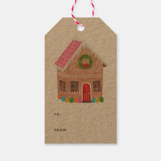Gingerbread Street Gift Tags