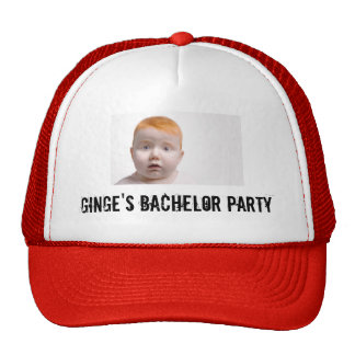 Ginge's Bachelor Party Cap