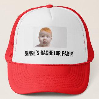 Ginge's Bachelor Party Trucker Hat