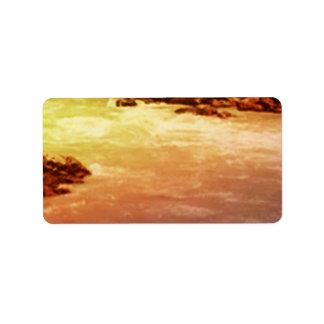 GINNILAW  Golden Waves 2 Label