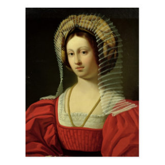 Giovanna I  Queen of Naples, 1842 Postcard