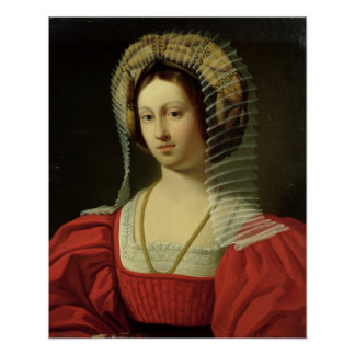 Giovanna I  Queen of Naples, 1842 Poster
