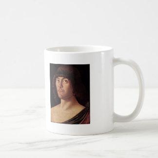 Giovanni Bellini- Portrait of a Humanist Classic White Coffee Mug