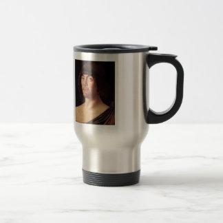 Giovanni Bellini- Portrait of a Humanist 15 Oz Stainless Steel Travel Mug