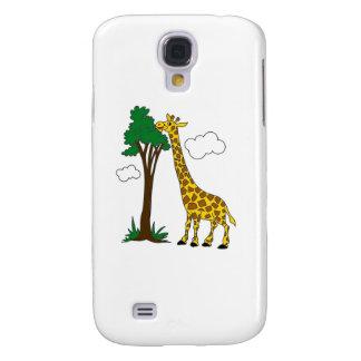Giraffe Galaxy S4 Cases