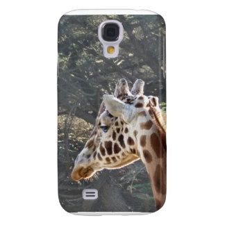 Giraffe Closeup Galaxy S4 Case